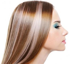 Частичное мелирование волос