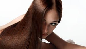 Подравнивание волос одним срезом