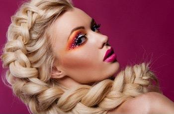 Сложное плетение кос